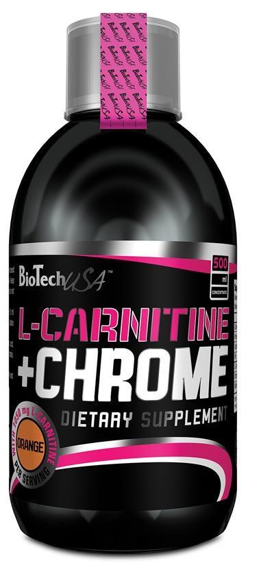 BioTech L-CARNITINA + CROM