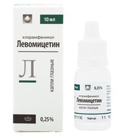 Levomycetin, Lecco