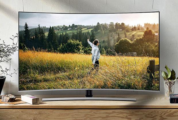 Cele mai bune televizoare curbate