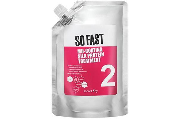 Cheie secretă Tratamentul de proteine din mătase atât de rapid